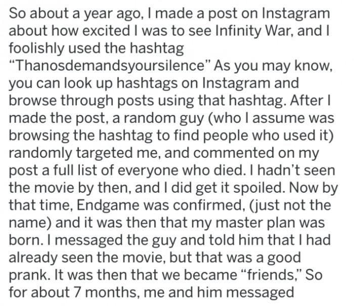 Here's how it went. #DoucheMove!