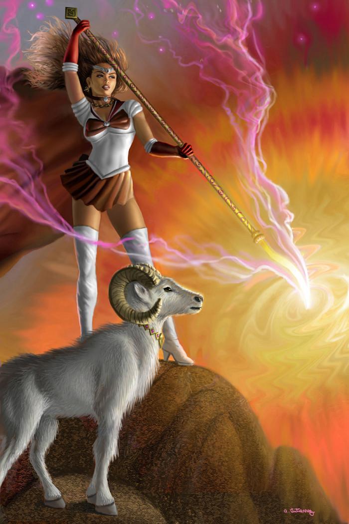 13. Sailor Aries