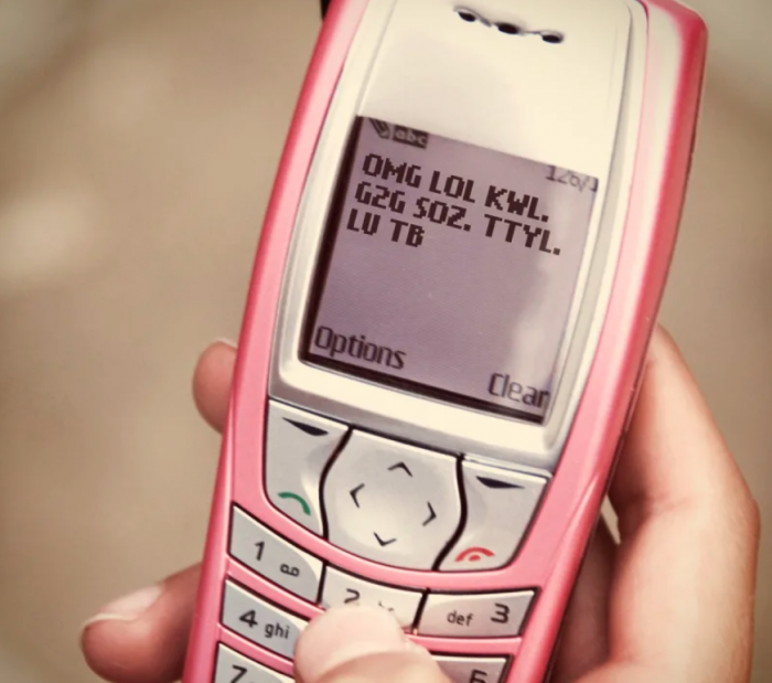 8. You used your T9. Oh man, an old school Nokia. I had one of these AND a flip Nokia.