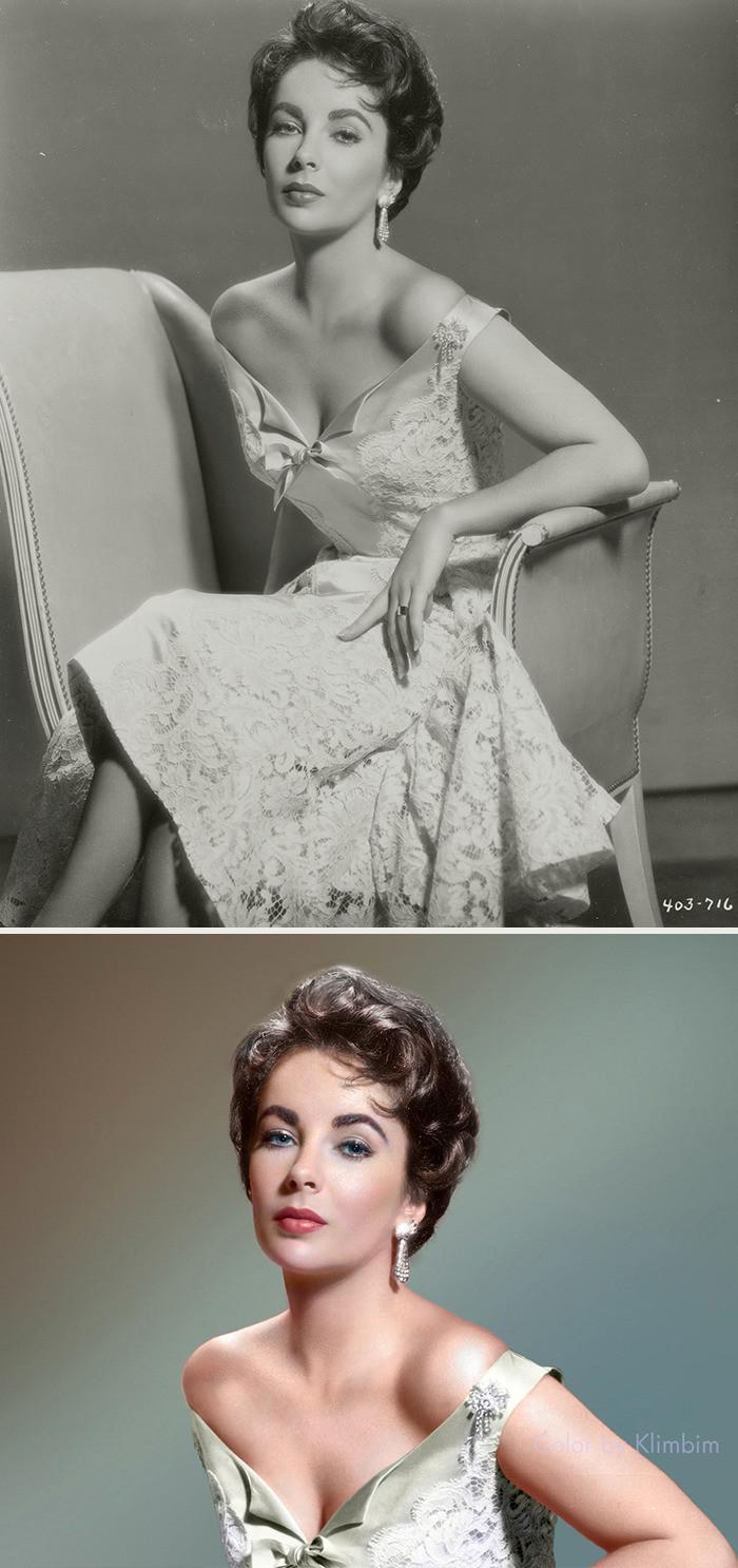 #1 Elizabeth Taylor