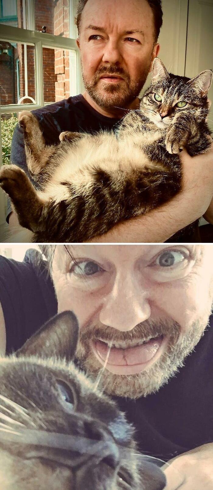 17. Ricky Gervais