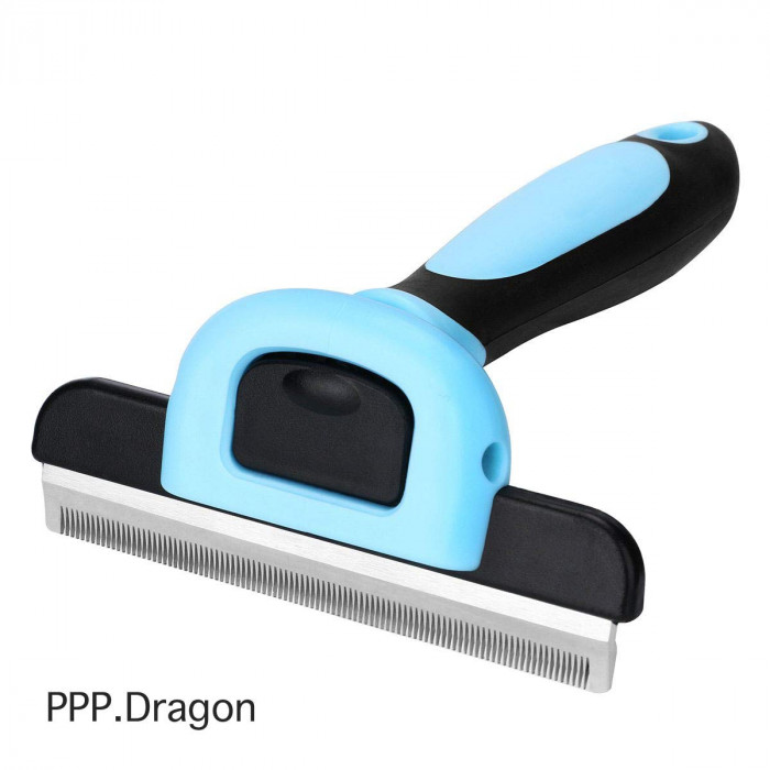 10. Pet Shedding Grooming Brush - Long & Short Hair - $12.87 USD
