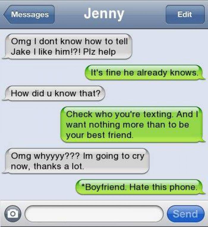 2. Jenny is probably retarded
