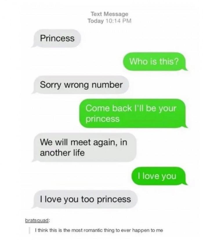 5. How romantic.