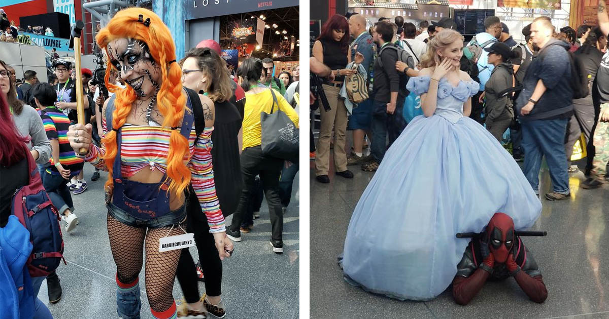The Most Amazing Cosplayers From The New York Comic Con 2019