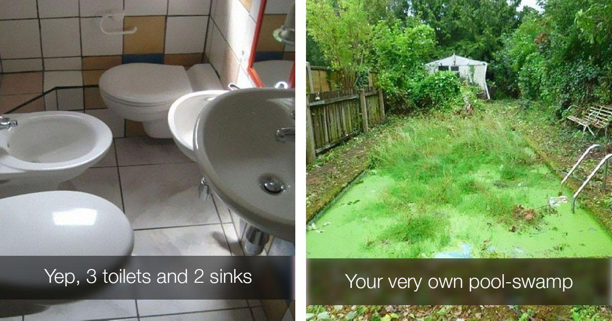 Real Photos Taken By Real Estate Agents To Advertise Homes You Probably Wouldn't Want To Live In
