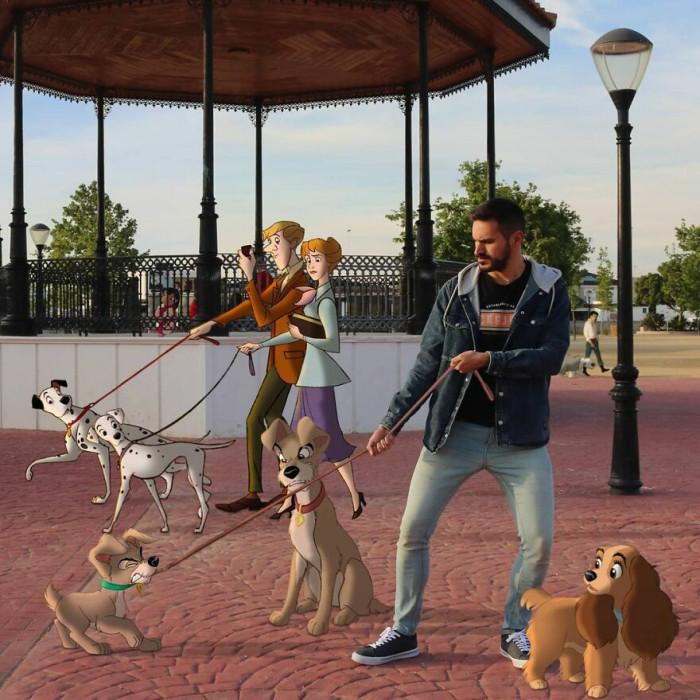 10. Dog eat dog world...