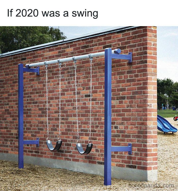 ... a swing