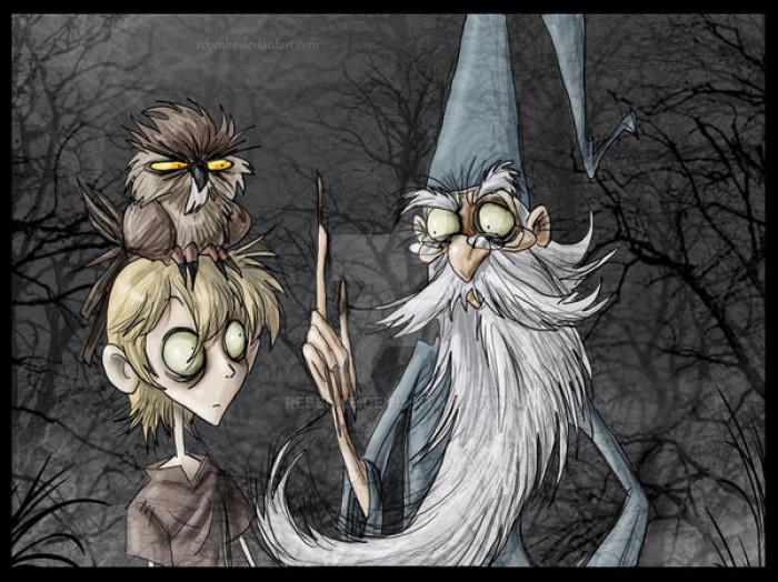 6. Merlin & Arthur / The Sword in the Stone