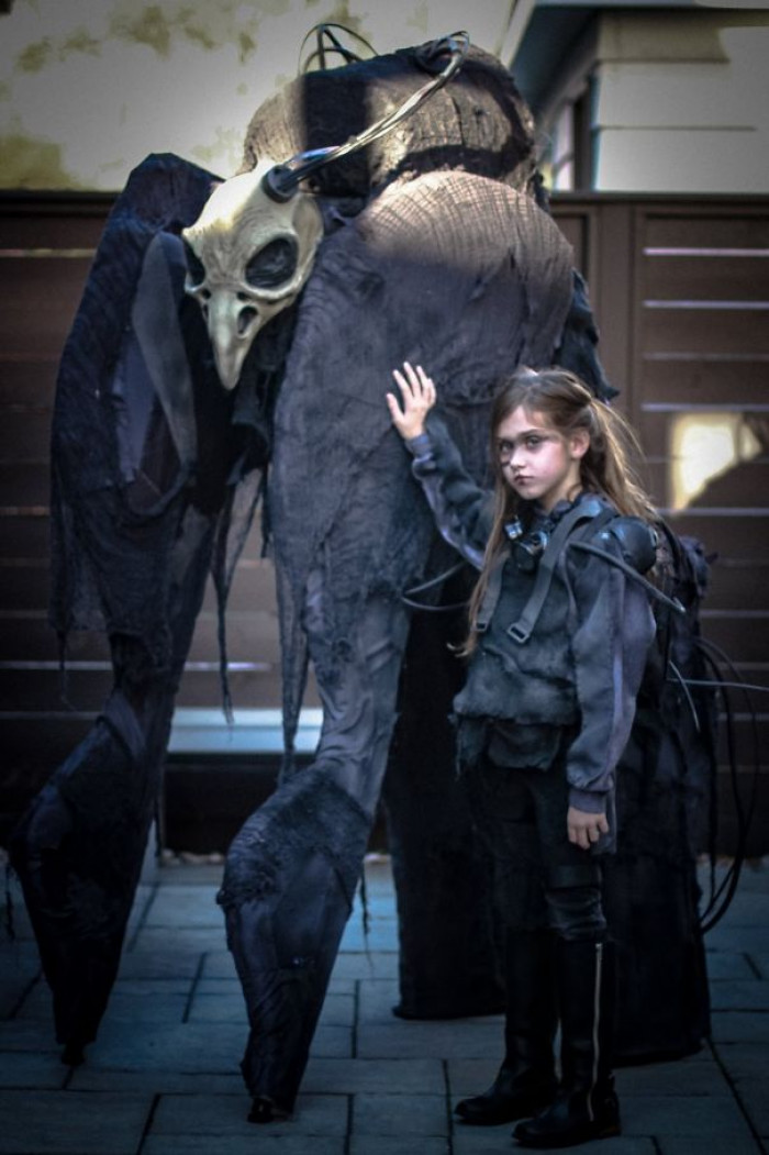#3 My Daughter And I Are Ready To Terrorize The Neighborhood Again This Halloween