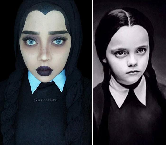 #9 Wednesday Addams