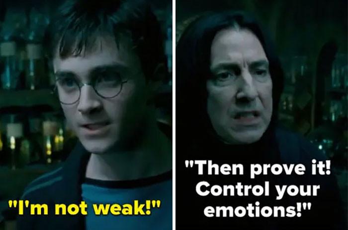 He tested Harry...