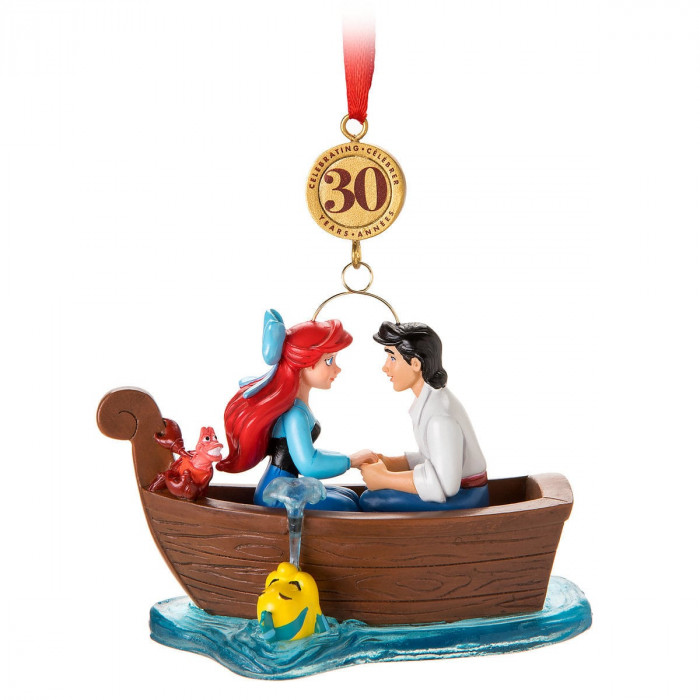 The Little Mermaid Legacy Sketchbook Ornament - Limited Release for $19.95