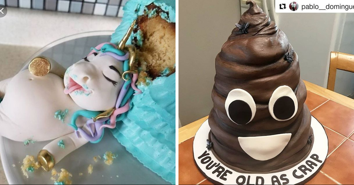 Some Of The Most Bizarre Cakes Shared To Social Media
