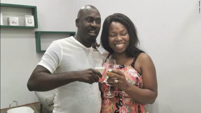 Hector Mkansi and Nonhlanhla Soldaat