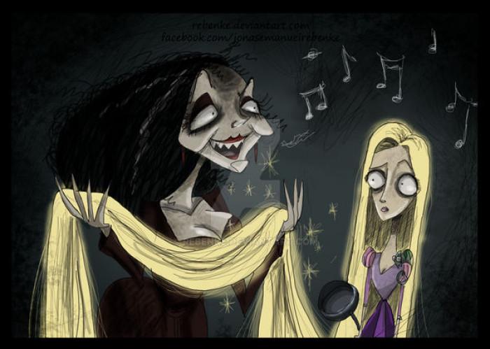 9. Rapunzel & Mother Gothel / Tangled