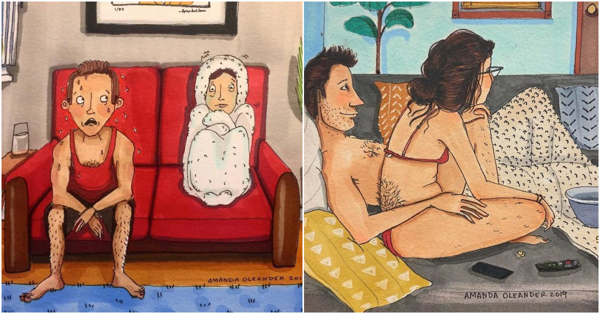 Illustrations That Perfectly Depict What Authentic Relationships Are Like Behind Closed Doors