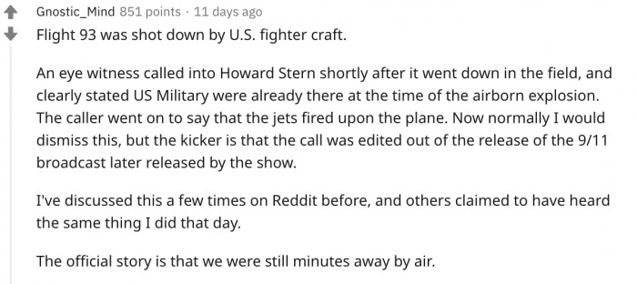 The flight that fought back?