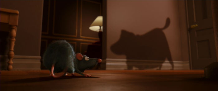'In Ratatouille, The Dog Barking At Remy Is Doug From Up.'