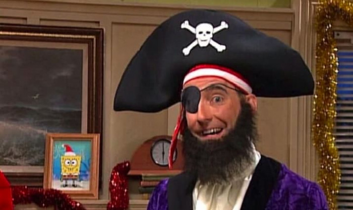15. Patchy the Pirate (Spongebob)