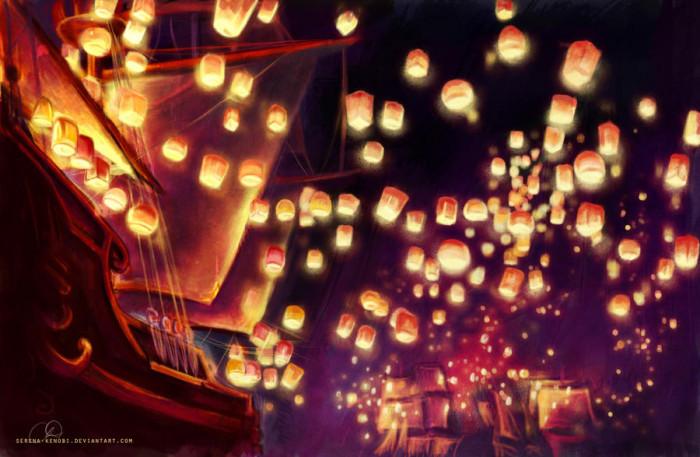 7. Tangled Lanterns