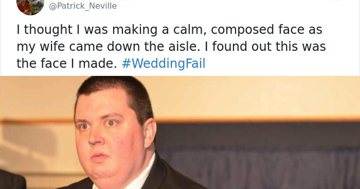 Jimmy Fallon Asked For Hashtags Of Your Wedding Fails... And Boy Did He Get Them