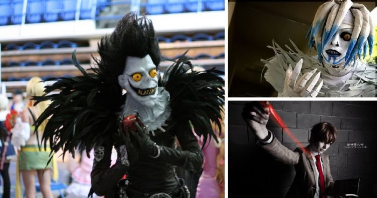 16 Mind Blowing Death Note Cosplays