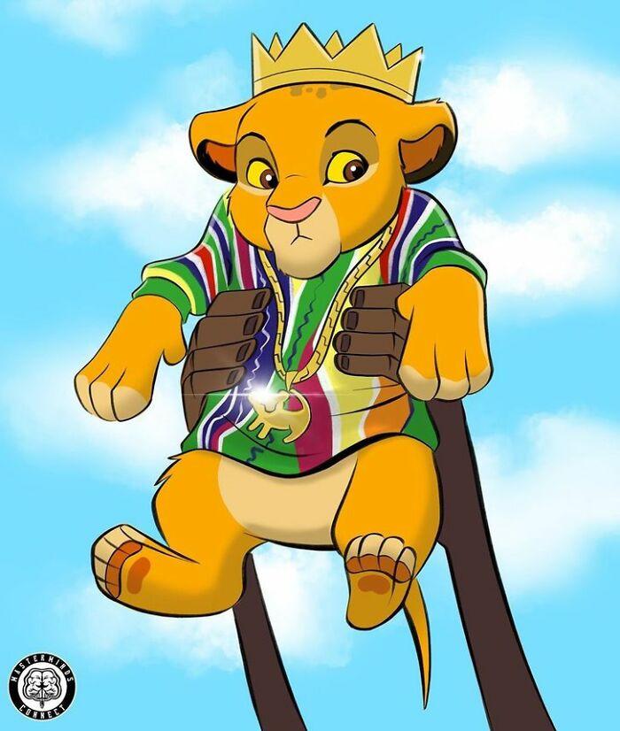 7. Baby Simba