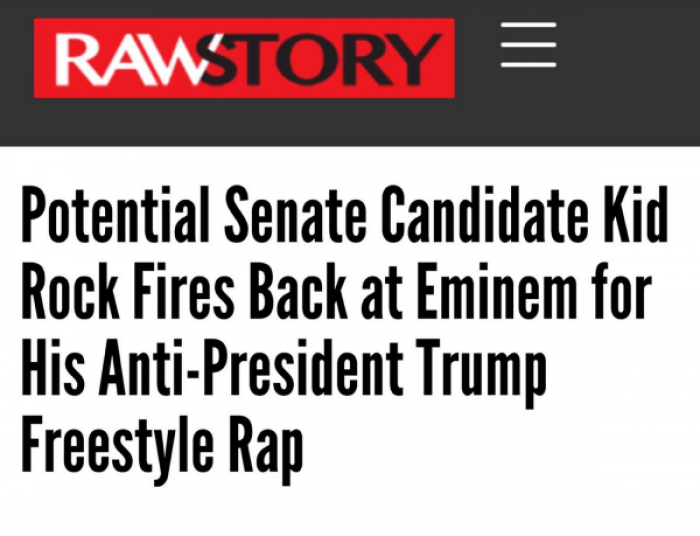 11. Perhaps the world would be a better place if there were more anti-Trump raps
