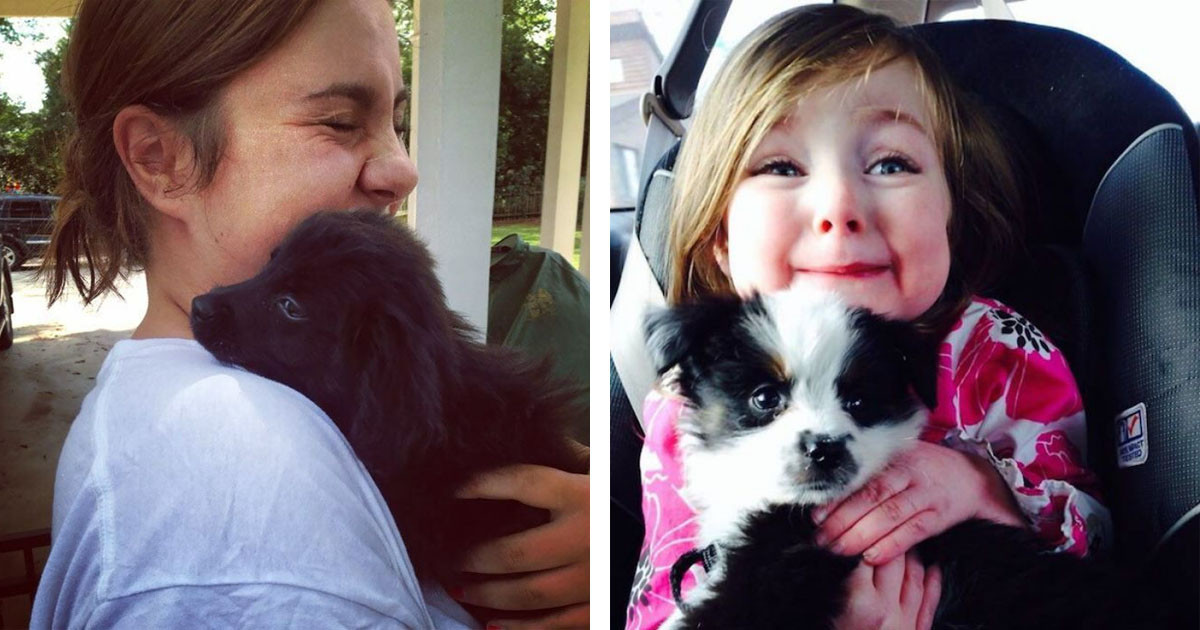 These Wholesome Photos Of People Meeting Their New Fur-Babies Are Extremely Heartwarming