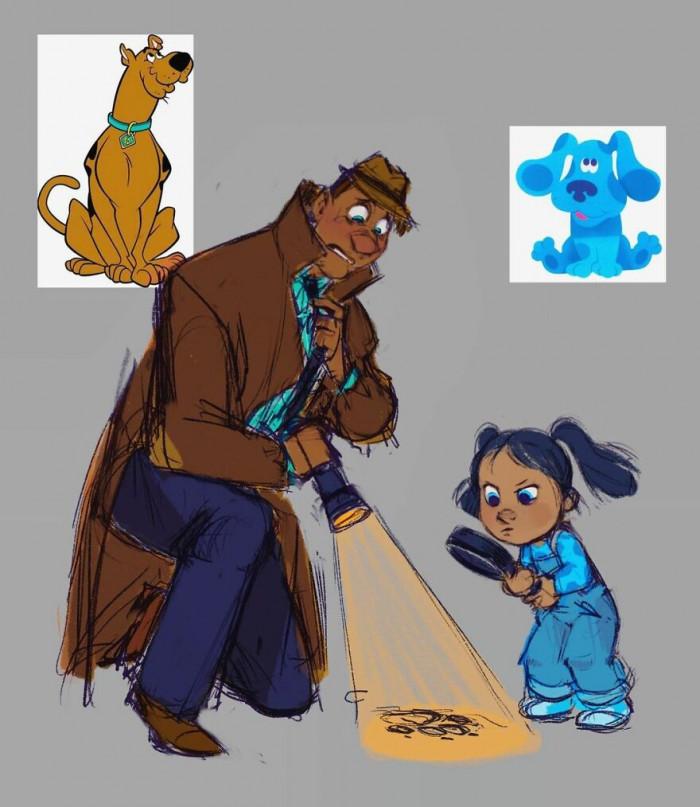 #6 Scooby & Blue