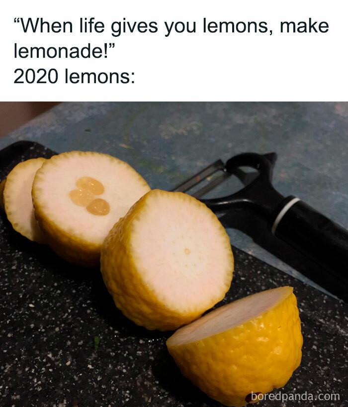 ... a lemon