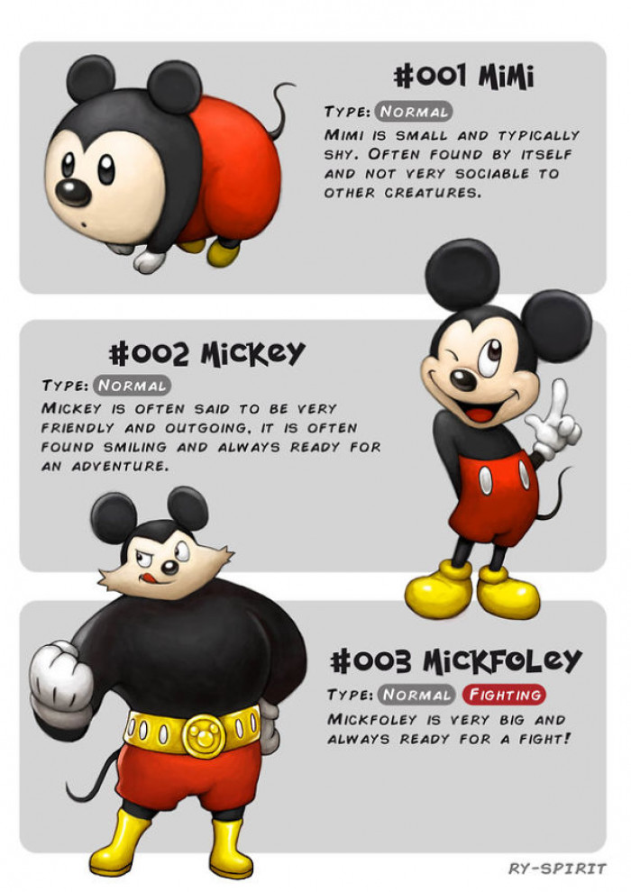 14. Mimi, Mickey and Mickfoley