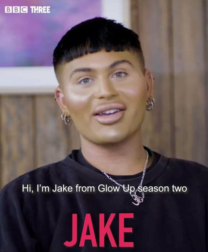 19. Keep In Mind He Was On A Show For Makeup Artists