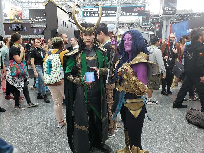 20. Loki and Thanos