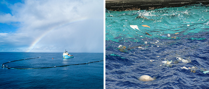 The Ocean Cleanup project aims to remove 90% of plastic from the ocean by 2040.