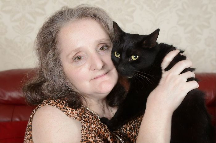 #22 Slinky Malinky, The Black Short Hair Tomcat Who Saved Its Owner From A Morphine Induced Coma