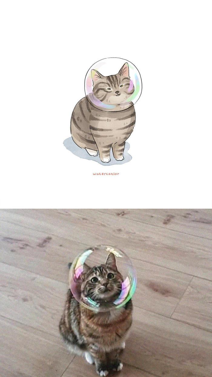 #24 Astro-Cat