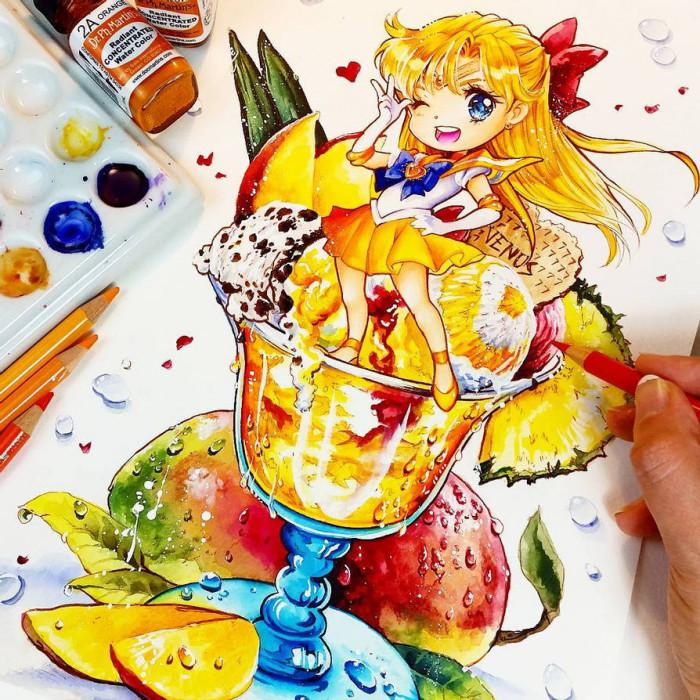 1. Sailor Venus