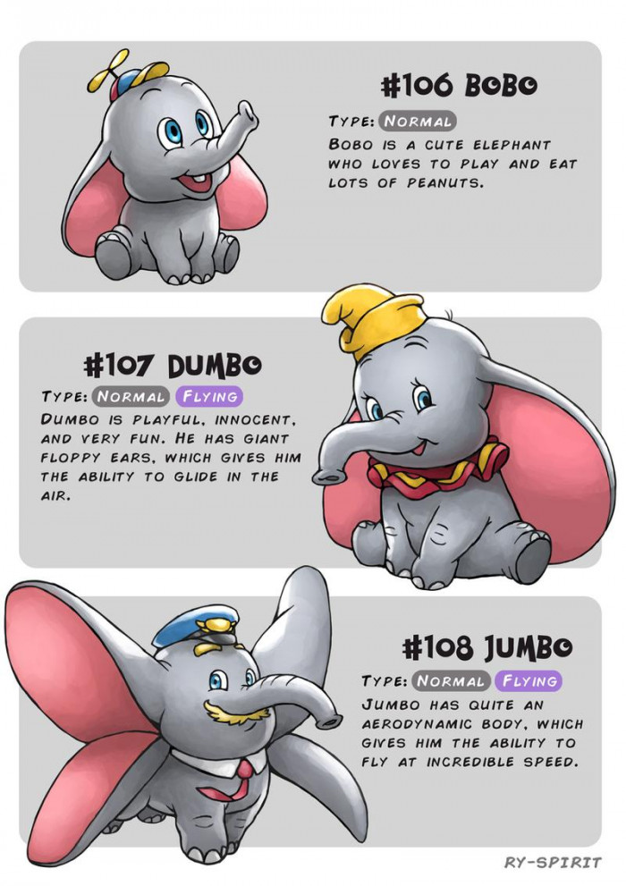18. Bobo, Dumbo and Jumbo