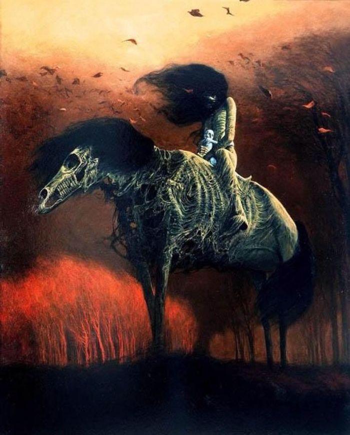 A pale rider.
