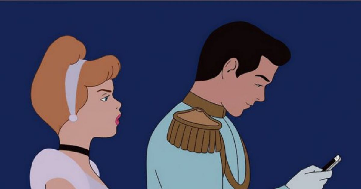 Artists Re-Imagines Classic Disney Movies With Modern Social