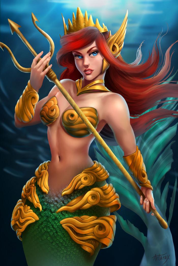 3. Ariel, The Little Mermaid