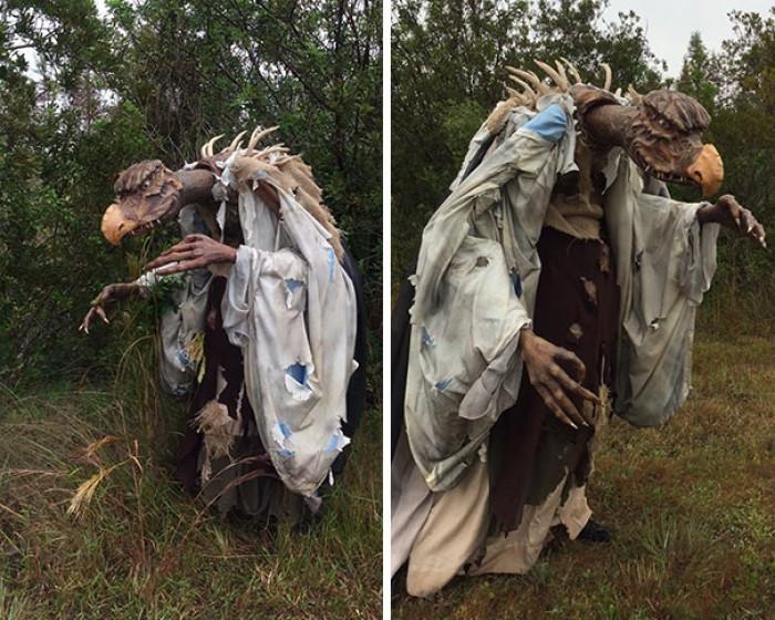 #23 Skeksis Costume, Dark Crystal