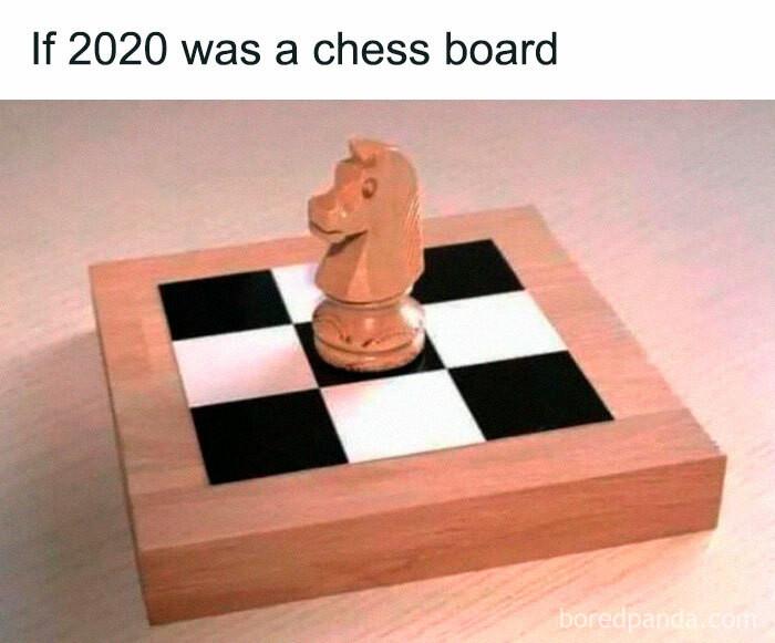 ... a chess board
