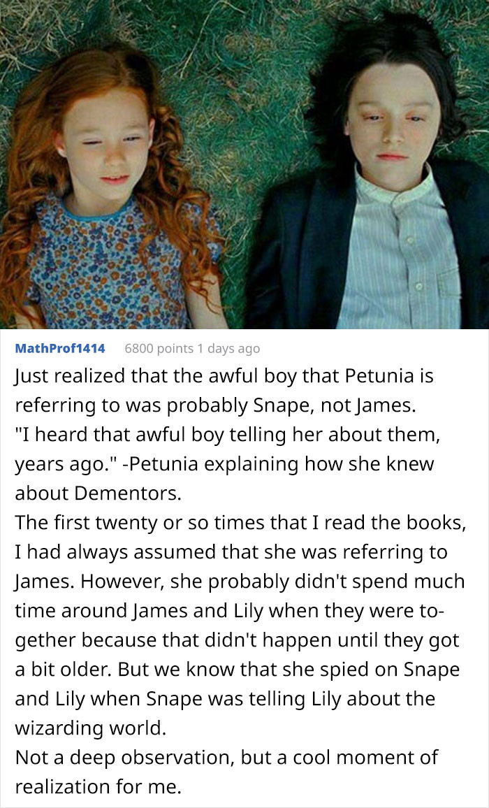 It's likely that Petunia knew Snape