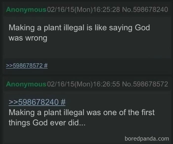 22. Illegal