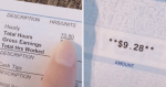 Woman Shares Her Measley $9 Paycheck After Working More Than 70 Hours As A Server
