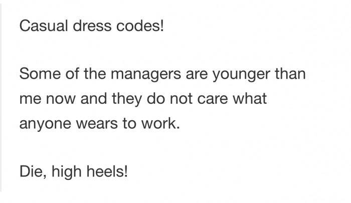 Casual dress codes