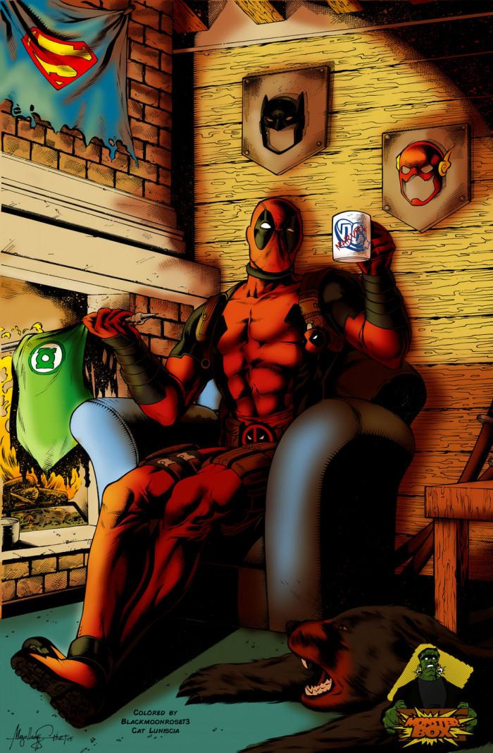 5. Deadpool